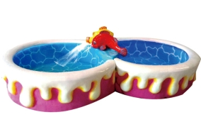 糖果三环功能鱼池